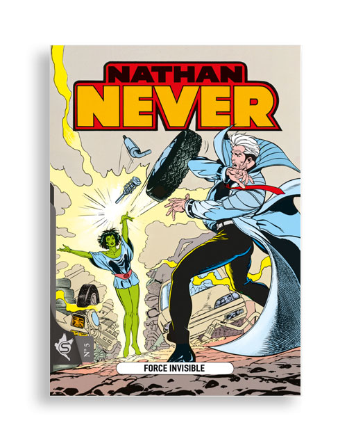 Nathan Never N°5 - Force invisible